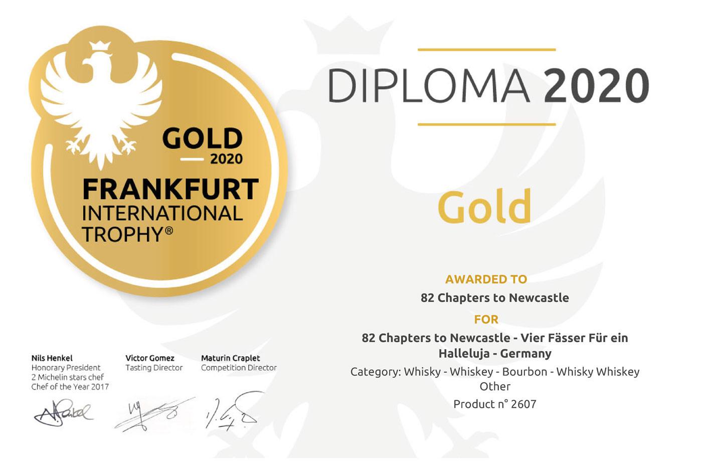 Gold Auszeichnung