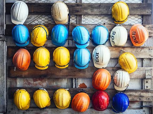 Safety Helmet Engineering Construction w