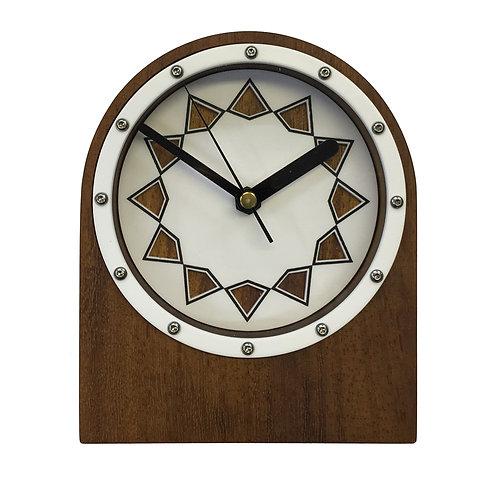 Iroko Clock (W#05)