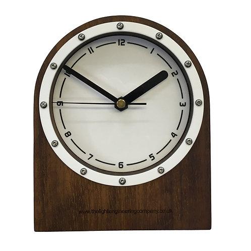 Iroko Clock (W#10)