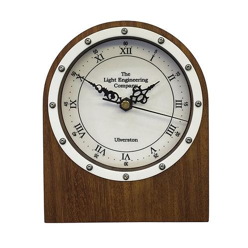 Iroko Clock (W#13)