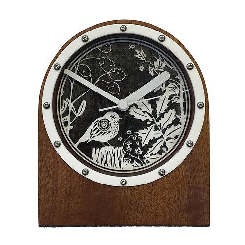 Sapele Clock (W#Robin)