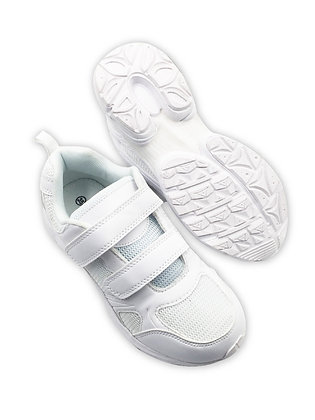 School Shoes - White