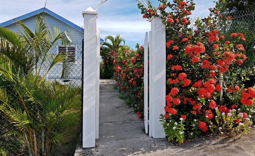 L'entrée villas Blue Haven 1 & 2