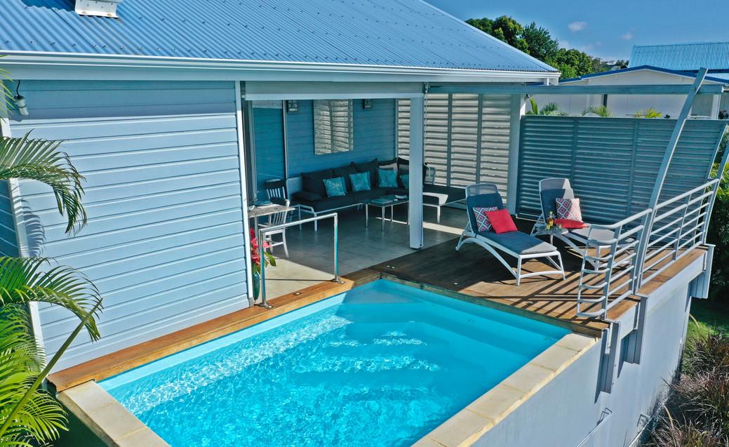 Les terrasses des villas Blue Haven 1&2