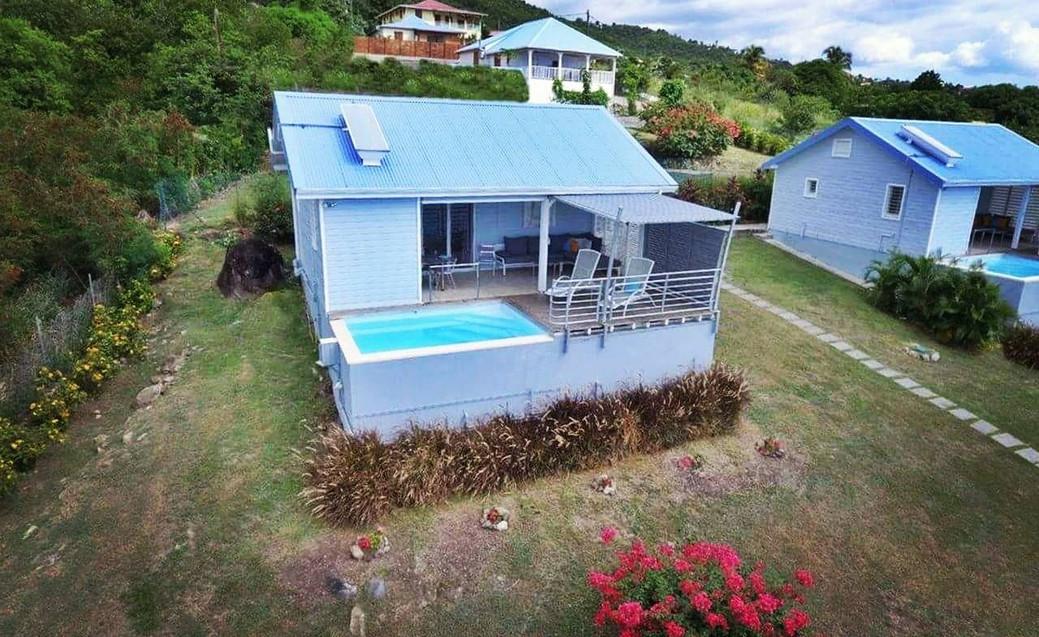 Villas Blue Haven 1 & 2 par drone