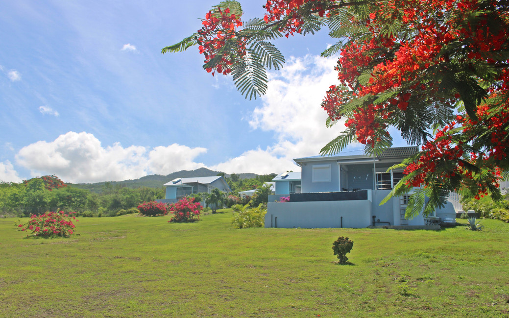 Les quatre Blue Haven villas