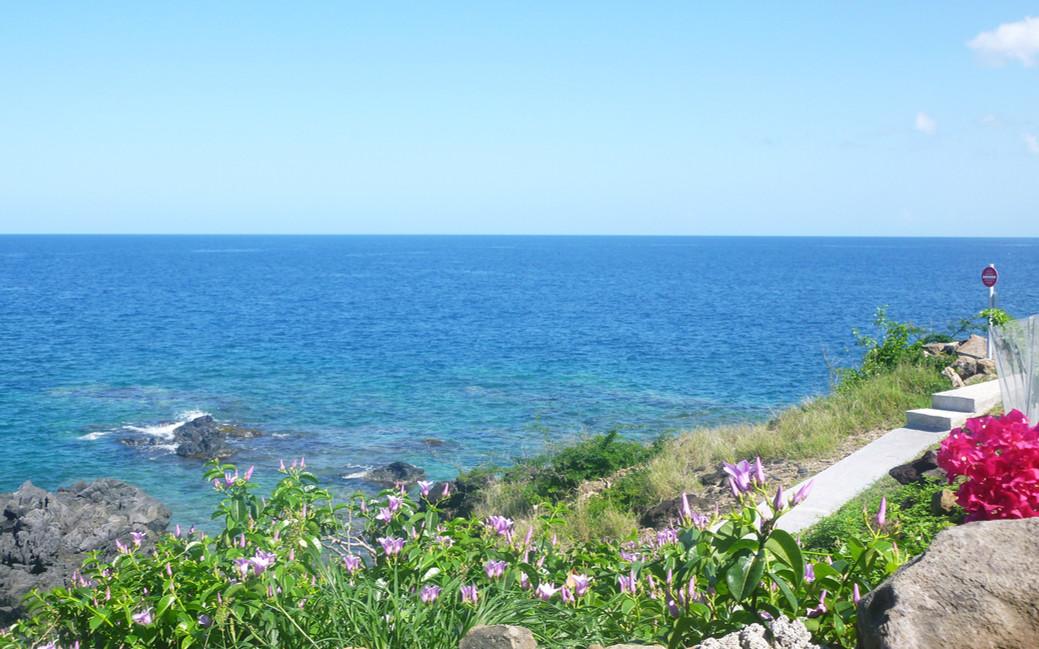 Le bord de mer à Blue Haven Villas Guadeloupe