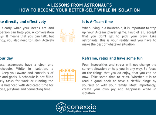 4 Lessons from Astronauts - How to become your better self while in isolation