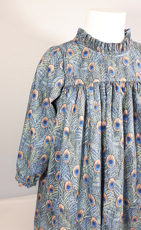 Robe Elissa col plissé