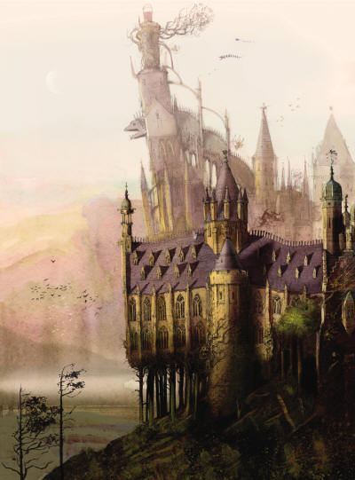 HPILLUSTRATED_B_Art_Hogwarts