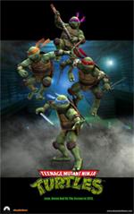 Ninja Turtles poster - 150px