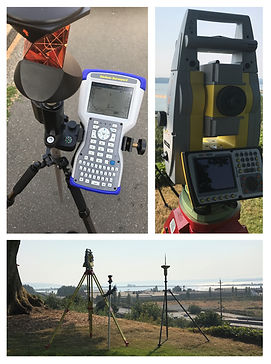 Total Robotic Station GPS Data Collector