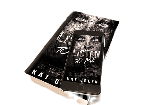 Signed paperback - Listen to me!