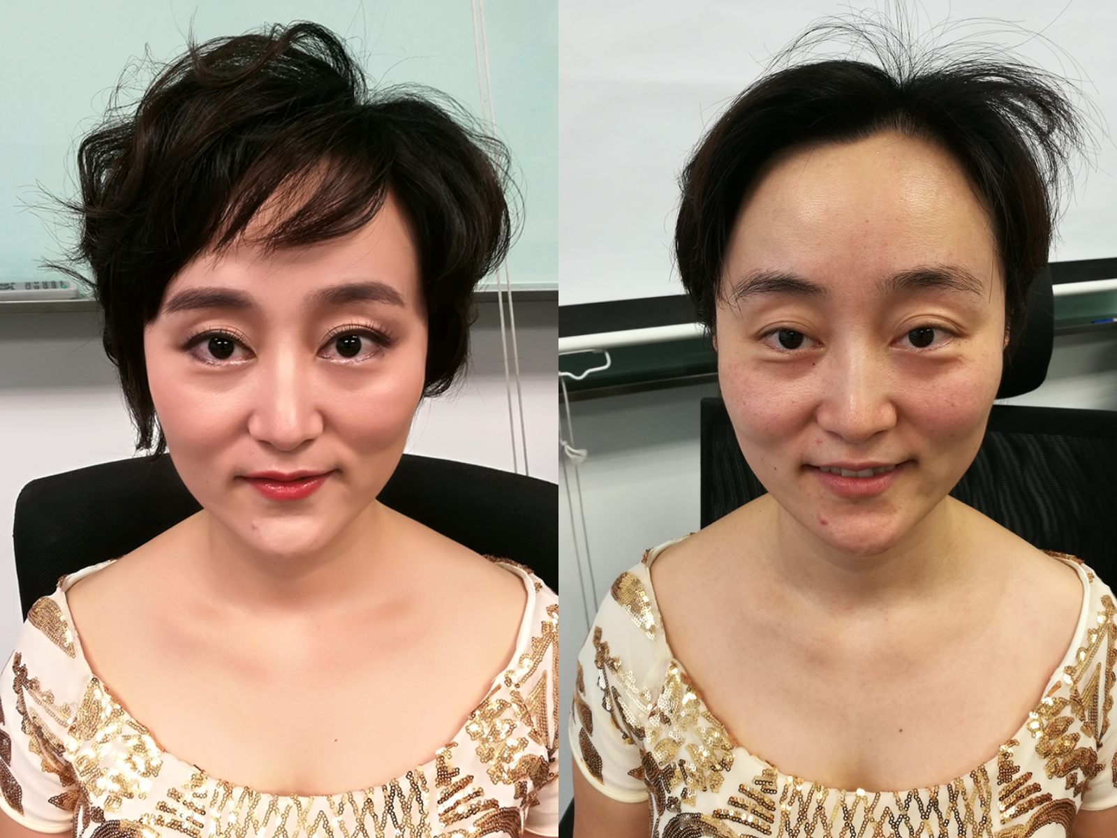 Huawei Annual Dinner Makeup
