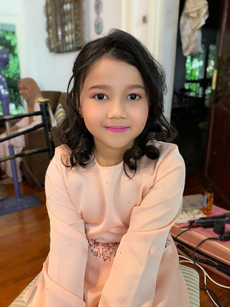 Kid Makeup Service In Malaysia