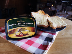 Regalien - Durian Butter Spread Product Shooting   by Infinity Film Studio