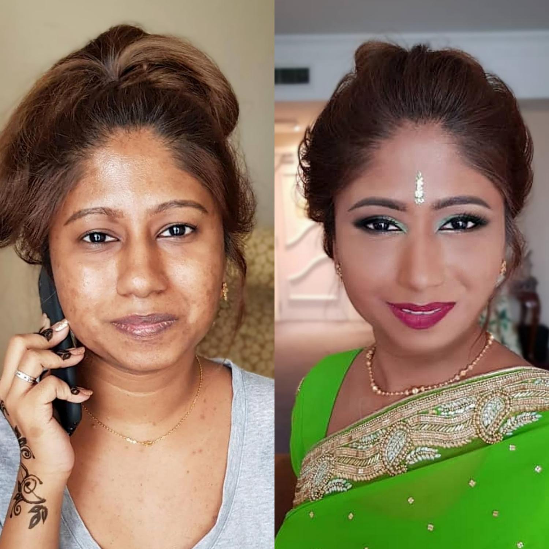 Indian Makeup Service in KL
