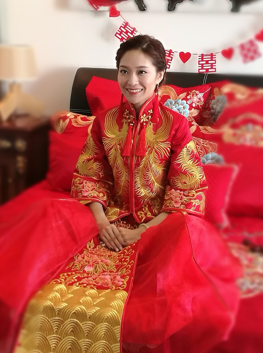 Traditional Chinese Wedding Makeup