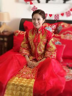 Traditional Chinese Wedding Makeup