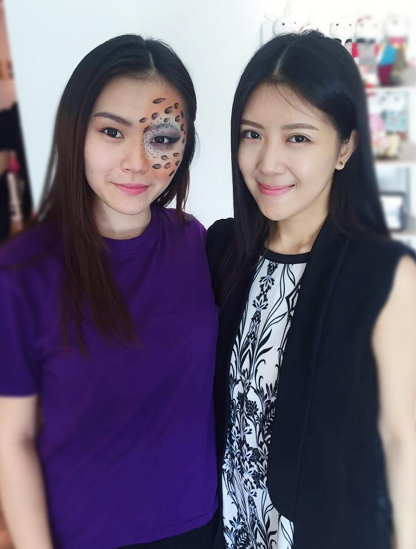 Makeup for Celcom Roadshow Event
