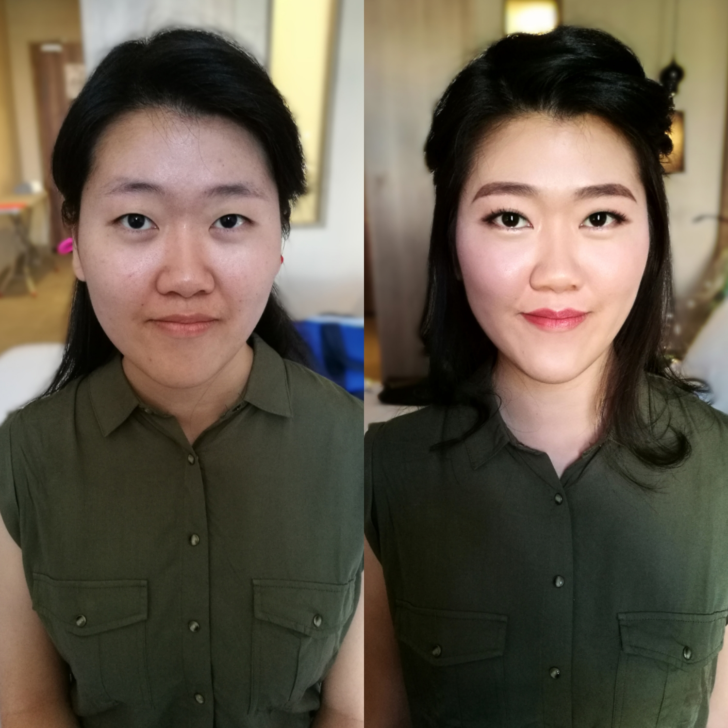 Korean Makeup | Dinner Makeup in KL