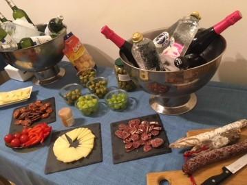 Unser Catering: Cava, Tapas und Lebensfreude