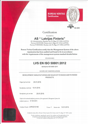 ISO 50001:2012