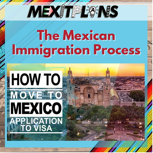 The Mexican Immigration Process From A-V: Application to Visa