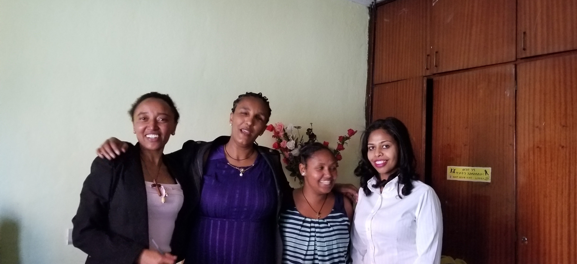The women of EWDNA