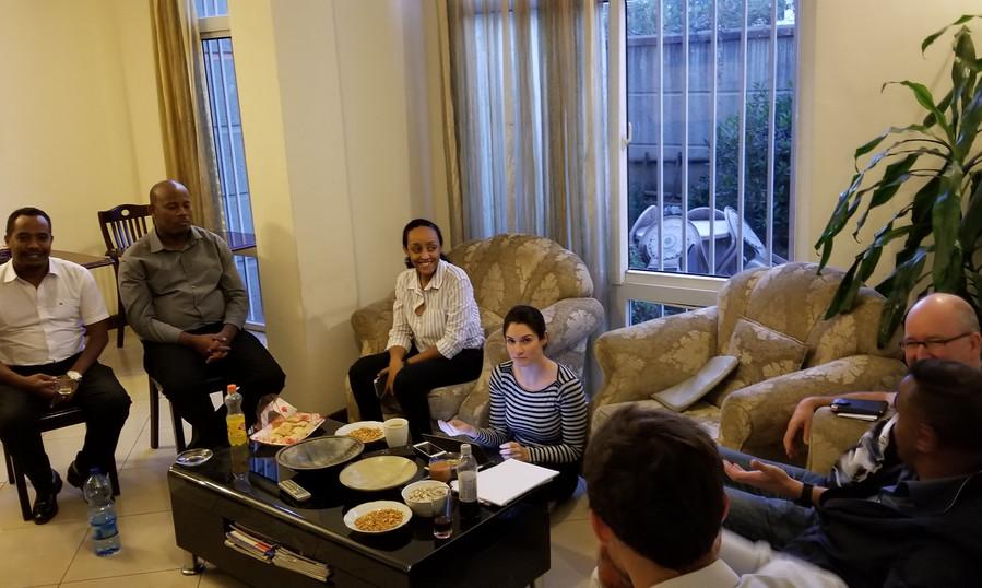 Meeting at Aclana