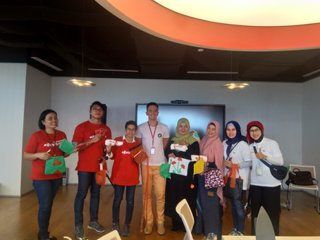 Kertabumi Foundation Zero Waste Workshop di Telkomsel #BhayPlastik Day