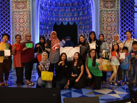 Ngabuburit di Mal bersama Kertabumi Klinik Sampah dan Tempat Kumpul Kreatif
