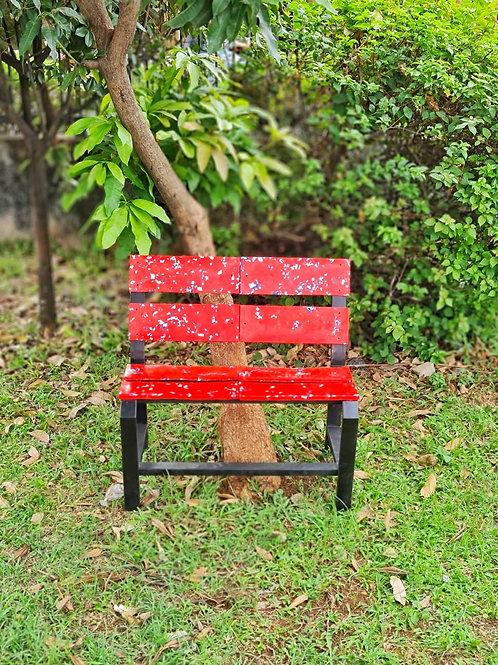 Bangku Taman Daur Ulang Sampah Plastik - Kertabumi Recycling Center
