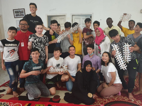 Workshop Kertabumi Klinik Sampah dan Pengungsi Anak UNHCR dan Save the Children