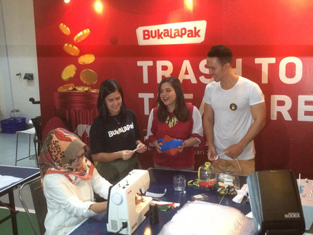 """Trash to Treasure"": Mengisi Hari Peduli Sampah Nasional 2019 dengan Recycling Workshop di Bukalapak"