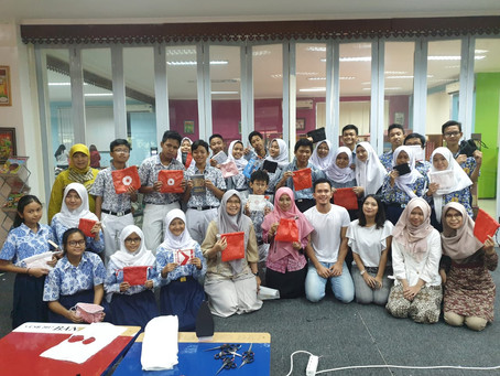 Kolaborasi Kertabumi Klinik Sampah & Suku Dinas Perpustakaan dan Kearsipan Kota Administrasi Daerah