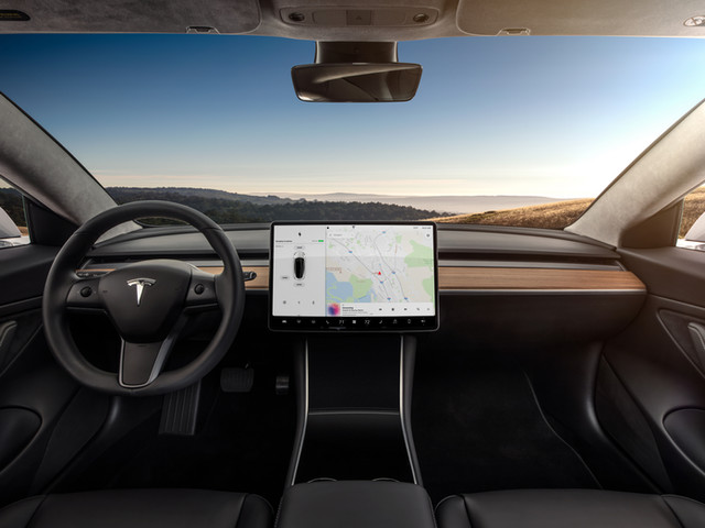 Model 3 - Interior Dashboard - Head On.j