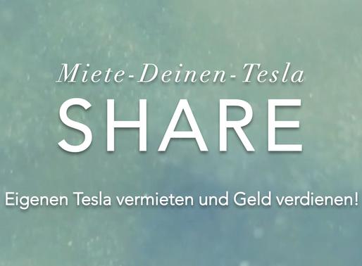 Jetzt selber Tesla-Vermieter werden!