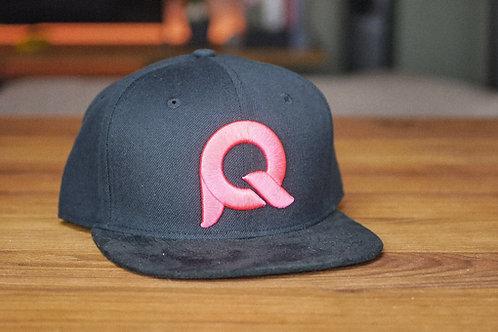 Cap schwarz & pink / PQ002