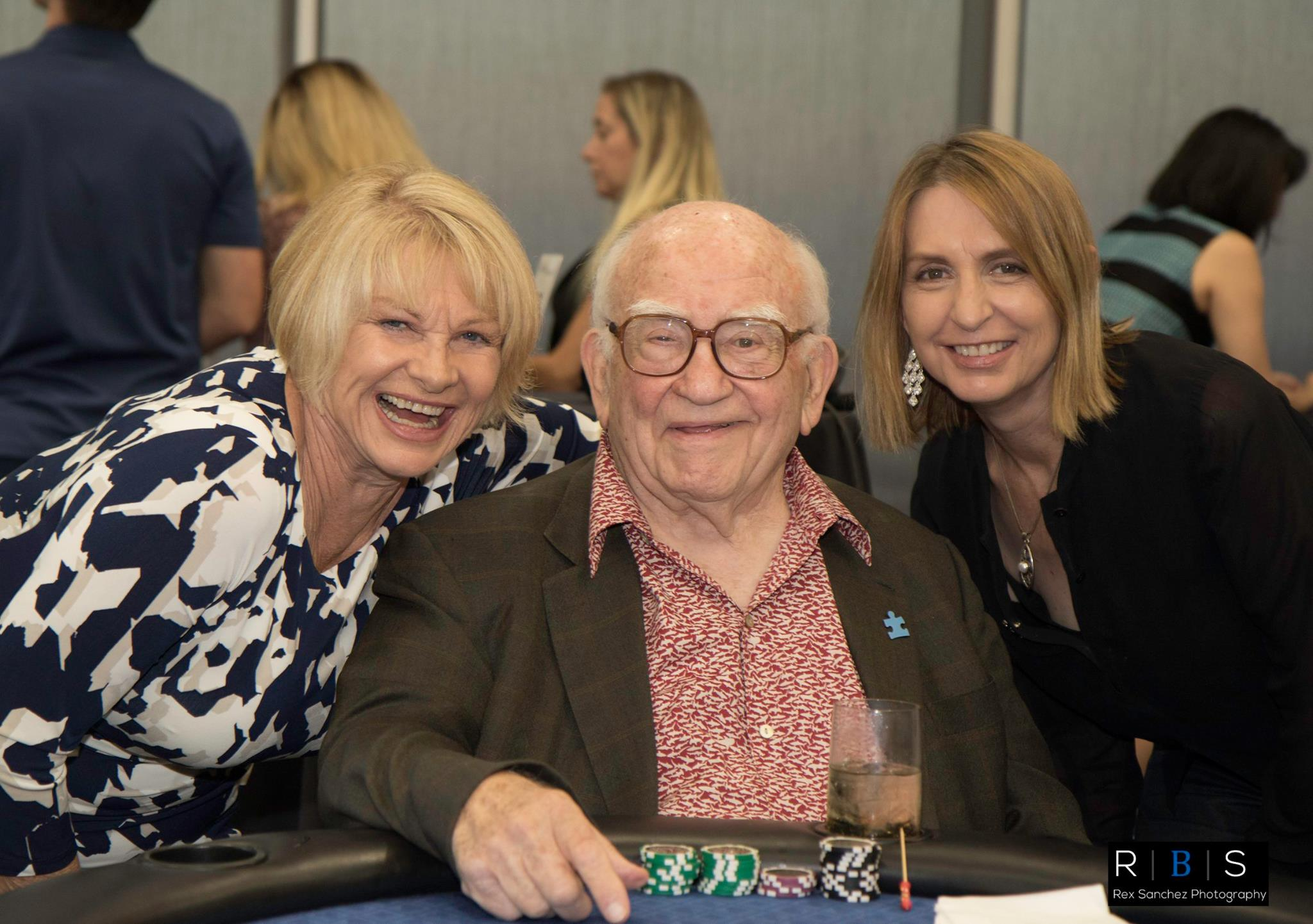AMT Ed Asner Joanne and Susan Autism Speaks