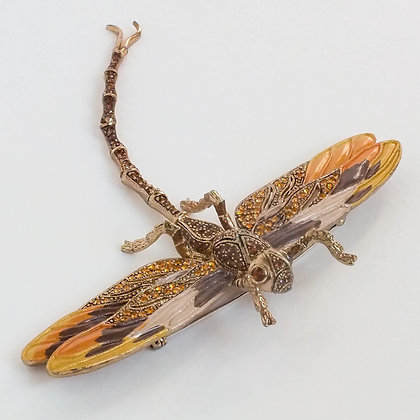 Брошь-стрекоза Janus