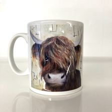 Ceramic printed mugs and gifts by Donna Parrott.