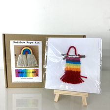 Fun felt decorations, cards and make your own kits by Oodle Doodle Art.
