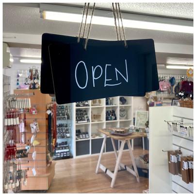 Open Now! Monday-Saturday 9:30-4:30
