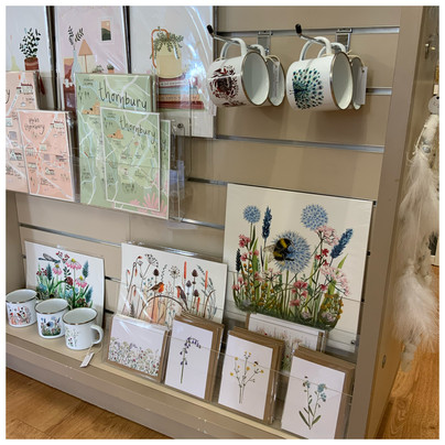Lovely prints and cards sold here!