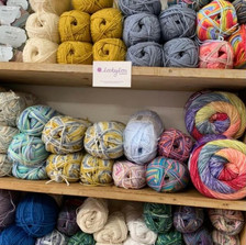 A selection of lovely yarns by the much loved Loobylou Yarns.