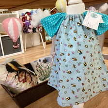 Adorable dresses, textiles and fabric decorations by All Sew Pretty.