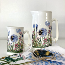 Stunning printed jugs and other gifts by Yasmin Jones.