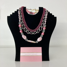 Beautiful beaded necklaces and bracelets by Maxie's Crafts.